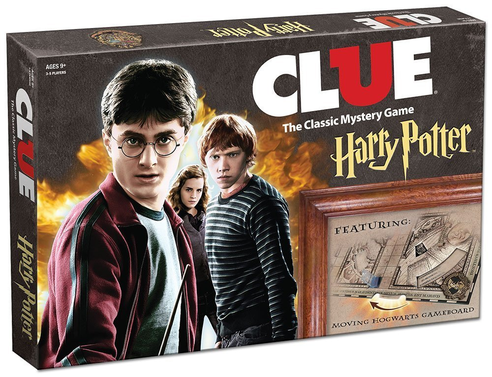 USAopoly Board Game For Clue Harry Poter Board Game