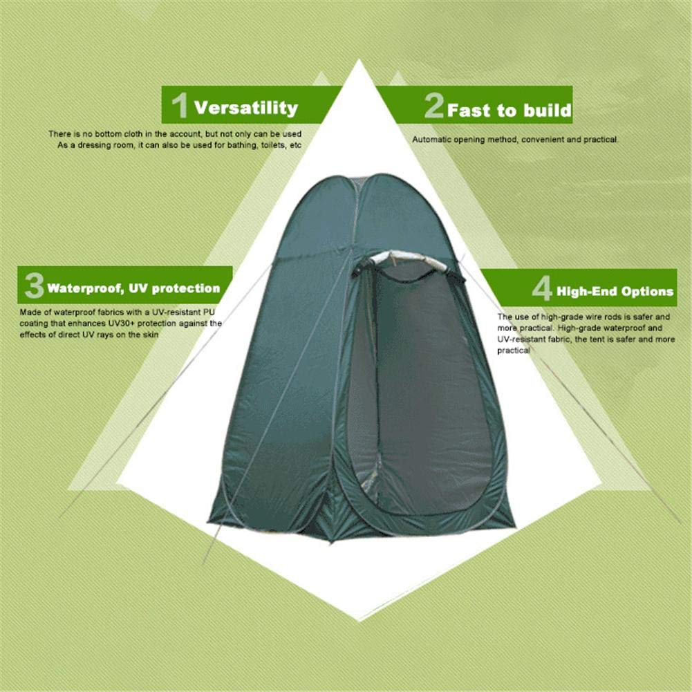 Leader Accessories Pop Up Shower Tent Dressing Tent Pod Toilet Tent Changing by Oshide (Image #7)