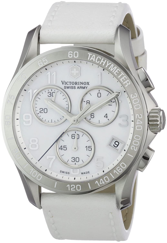 Victorinox Damen-Armbanduhr XL Classic Analog Leder 241418