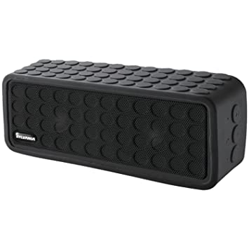 speakers bluetooth portable. sylvania sp258-black rugged bluetooth portable speaker speakers o
