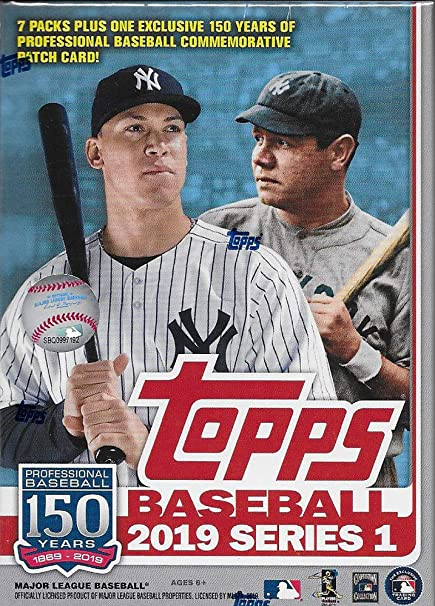 2019 Caja de béisbol TOPPS serie 1 Jumbo