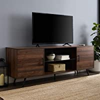 Deals on Walker Edison Furniture 70-inch Wood Universal Stand