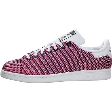 adidas Originals Kids' Stan Smith Color Shift J Skate Shoe, White/White/
