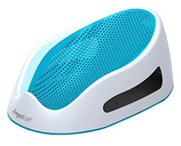 Amazon.com : Angelcare Bath Support, Aqua : Baby Bathing Seats And ...