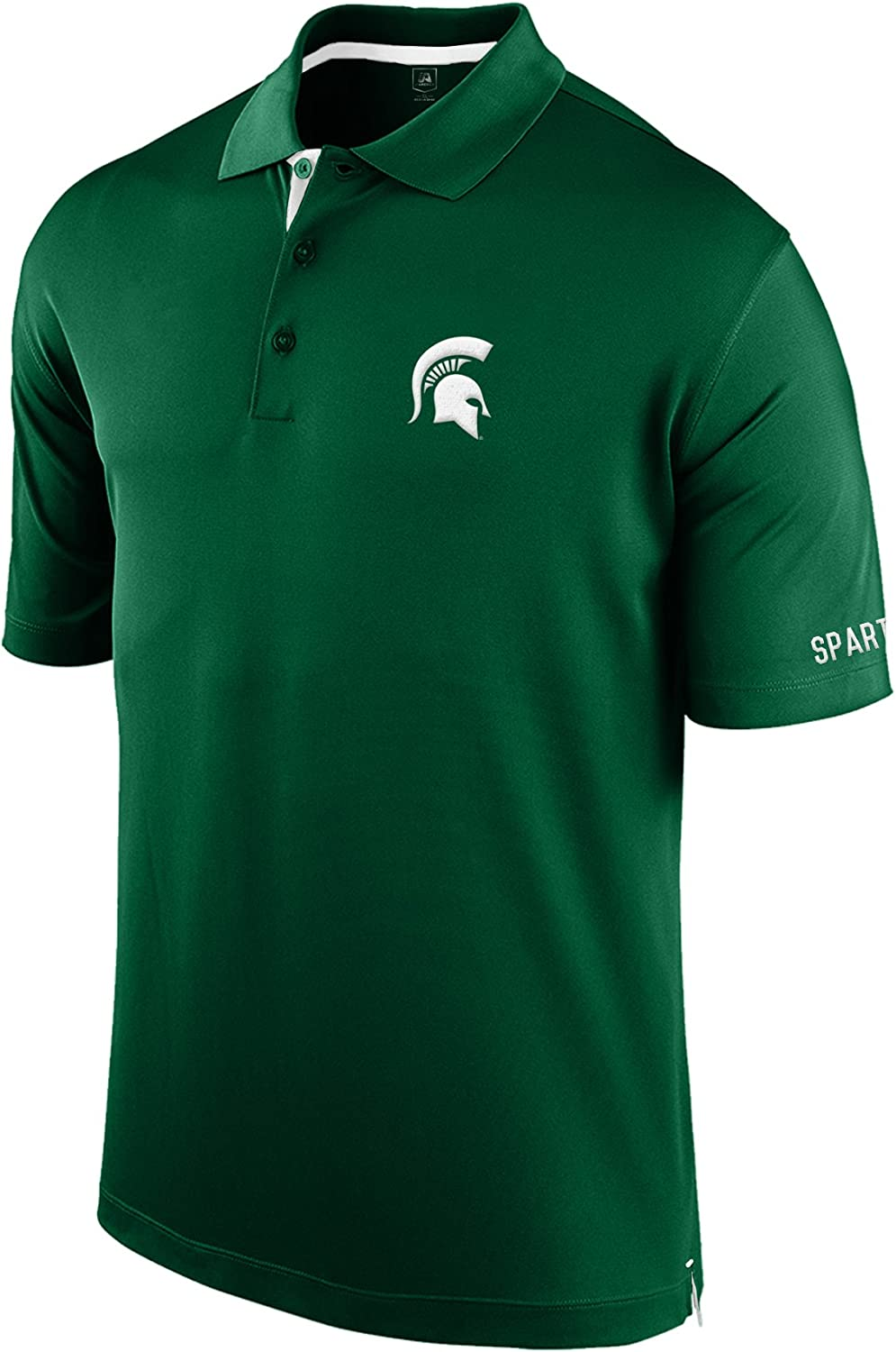 J America NCAA Mens Spector Poly Interlock Polo Shirt