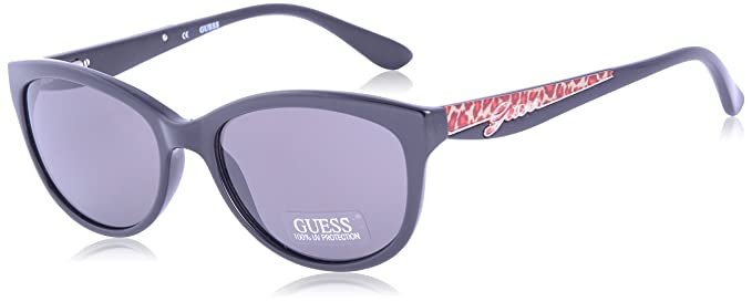 fe0fda882 Image Unavailable. Image not available for. Colour: Guess Wayfarer  Sunglasses (Black) ...