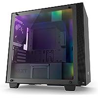 Gabinete Nzxt H400i Serie H, Mini-ITX,  Kit Iluminación y Ventilación incluido-  Negro CA-H400W-BB