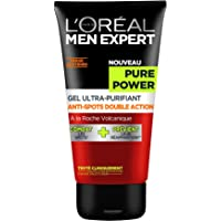 Men Expert L'Oréal Pure Power Volcano Gel Ultra-Purifiant Anti-spots 150 ml