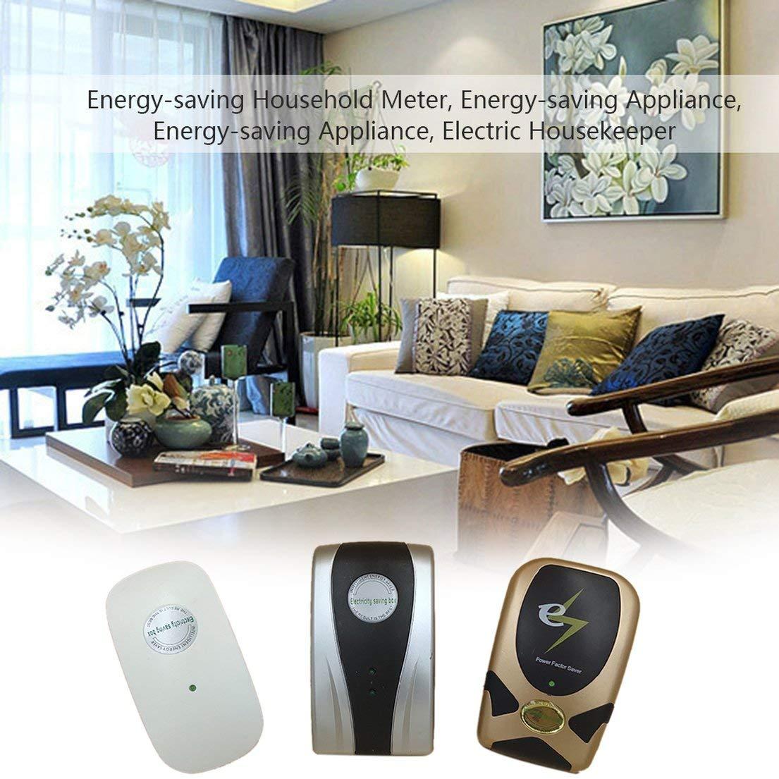 DFHJSXDFRGHXFGH-FR /Électricien /Économiseur d/énergie Intelligent /Économiseur d/énergie Compteur M/énage /Économiseur d/énergie /Économiseur d/énergie /Électronique Device-Sliver /& Bla