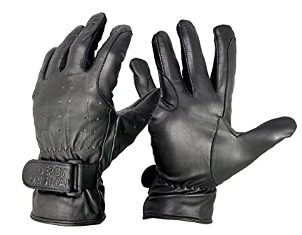 a0bc68c29dddf Image Unavailable. Image not available for. Color: Derby Unisex Genuine  Leather Cold Weather Gloves Mens ...