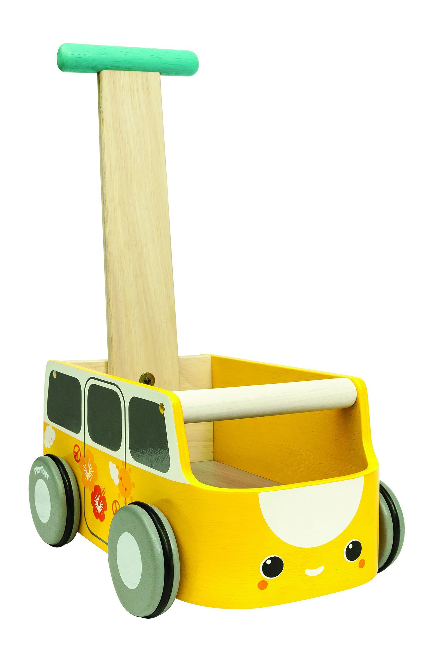 PlanToys Van Walker, Yellow