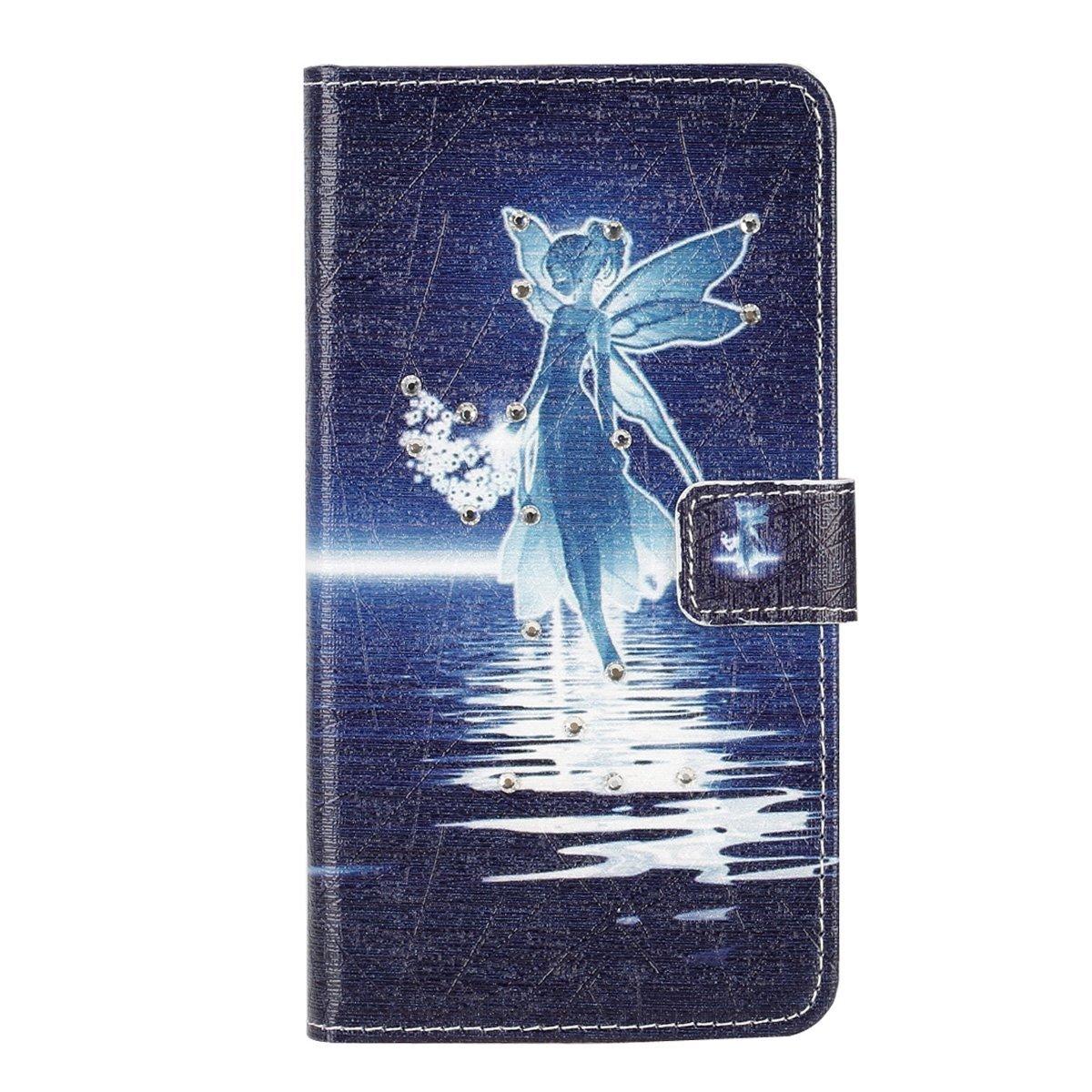 円高還元 IKASEFU Samsung Galaxy Galaxy Note 5、かわいいガールズウォレット型ケースダイヤモンドシリーズ[バタフライドレスガールズ]ラインストーンPUレザー磁気財布フリップケースカバースタンド付きSamsung Galaxy 5 Note B01FVP3T0Q 5 Samsung Galaxy Note 5 WX7491X2 天使 B01FVP3T0Q, e-mono plus:82eb2e0f --- arianechie.dominiotemporario.com