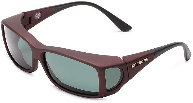 d664cdc5ac Cocoons C429G Wide Line Sunglasses  Amazon.co.uk  Clothing