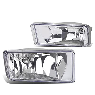 DNA MOTORING FL-ZTL-111-CH Front Bumper Fog Light, Driver and Passenger Side: Automotive
