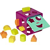 Playskool Form Fitter, Shape Sorter, Ages 18 Months & Up (Amazon Exclusive),Multicolor