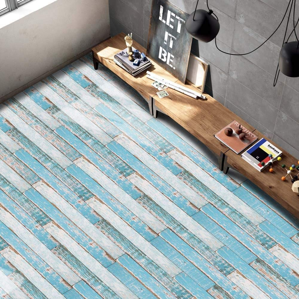 Funic Decal Wood Grain Contact Paper Waterproof Sticker