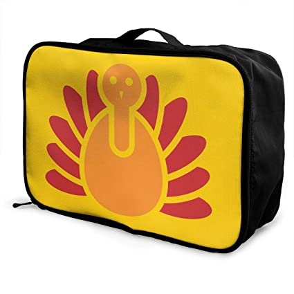 979ee827a4c8 Amazon.com: Mintslove Fashion Portable Luggage Bag Thanksgiving ...