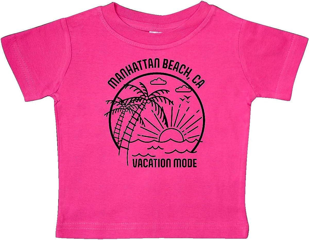 inktastic Summer Vacation Mode Manhattan Beach California Baby T-Shirt