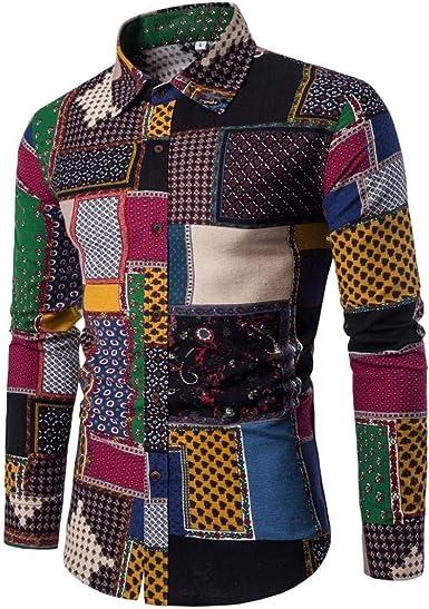 Camisa De Hombre Longra Camisa De Manga Larga Hombres para ...