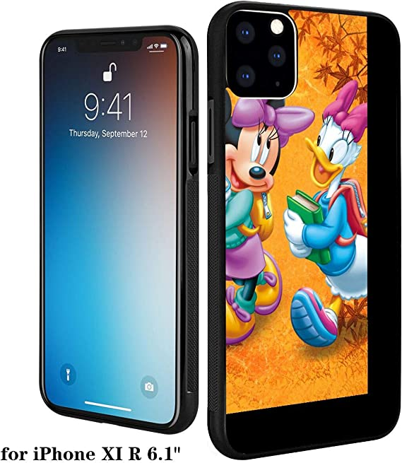 Disney Collection Pc And Tpu Case Iphone 11 6 1 Inch Cartoon Mickey Mouse And Donald Duck Wallpaper Hd Amazon Ca Cell Phones Accessories