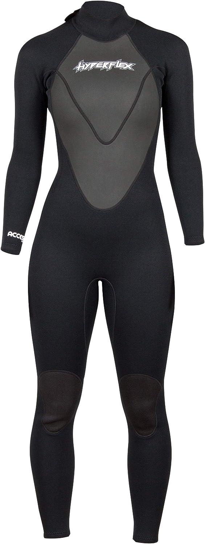 Hyperflex Access Men's and Women's Wetsuit Beauty products Backzip Full Body 3mm New arrival