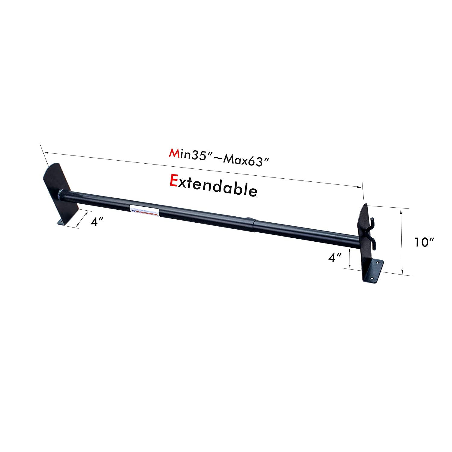 AA-Racks Model DX36 Universal Two Bar Drilling Van Roof Rack Heavy-Duty Adjustable Steel Rack Sandy Black