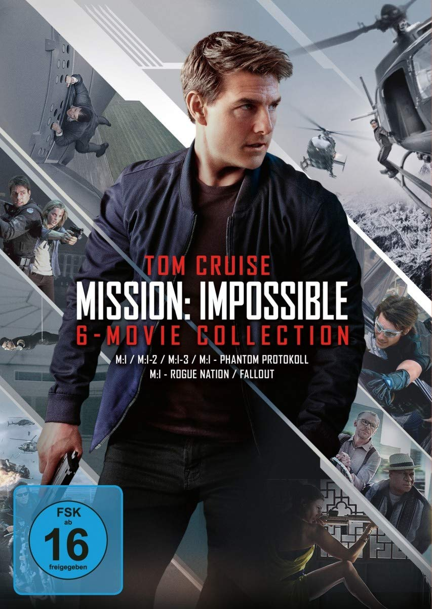 Amazon Com Mission Impossible 1 6 Movies Tv