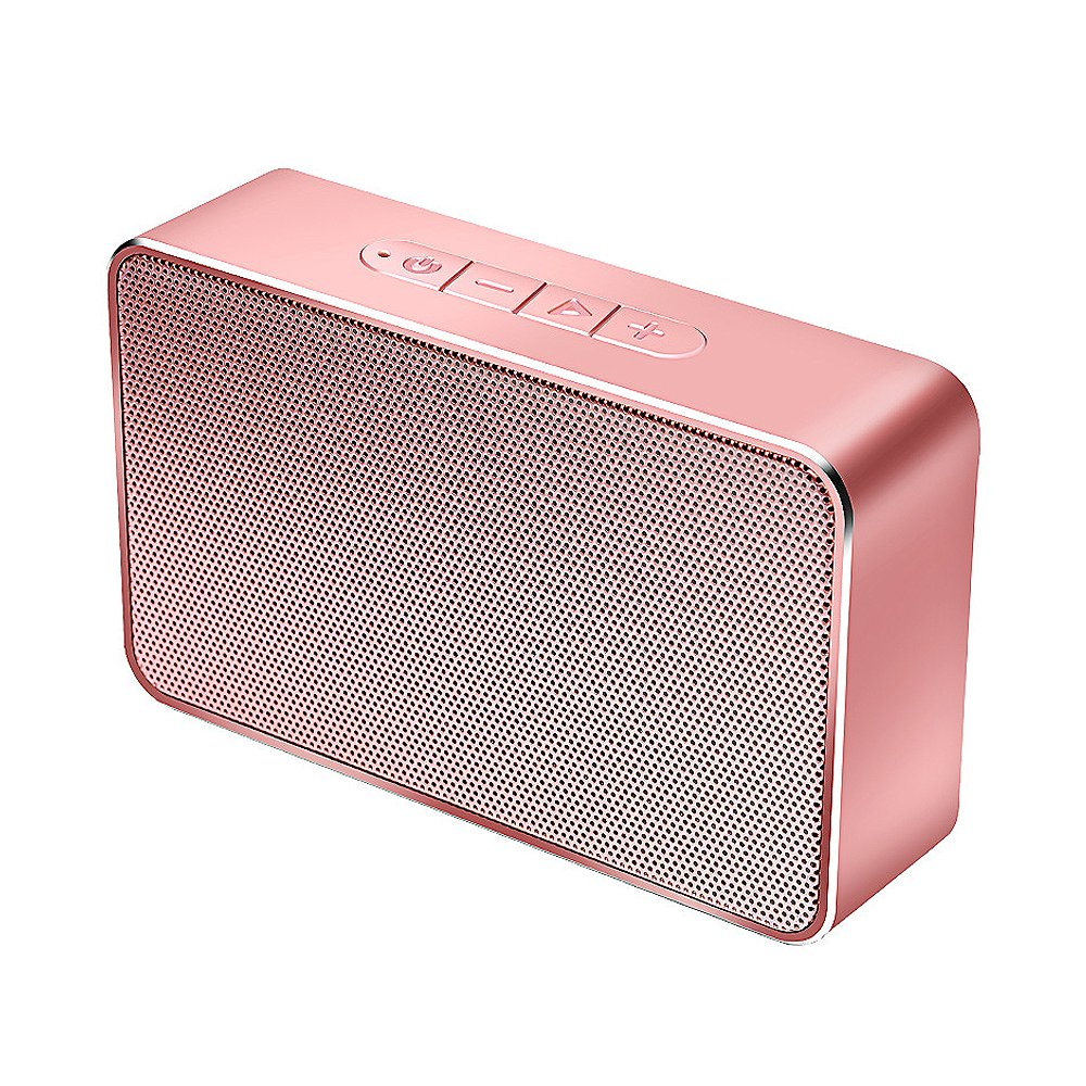 Lenrue Speakers Portable Bluetooth Wireless-K3-E Mini Speaker for Outdoor,HD Stereo Sound and Enhanced Bass Built-in Microphone Handfree-function,for IPhone Android Home Beach School Party...Rose Gold