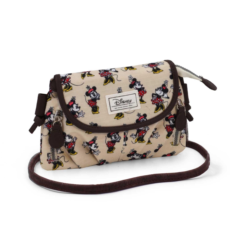 Beige 22 cm Disney Classic Minnie Ivory Messenger Bag