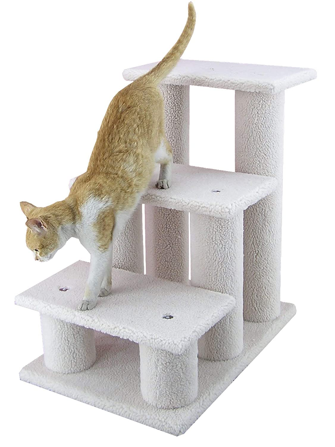 Aeromark International Armarkat Pet Steps Stairs Ramp for Cats and Dogs