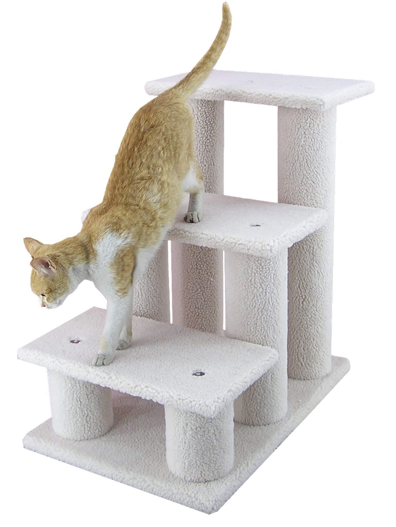 Armarkat Pet Steps, 3-steps, B3001, Ivory by Armarkat