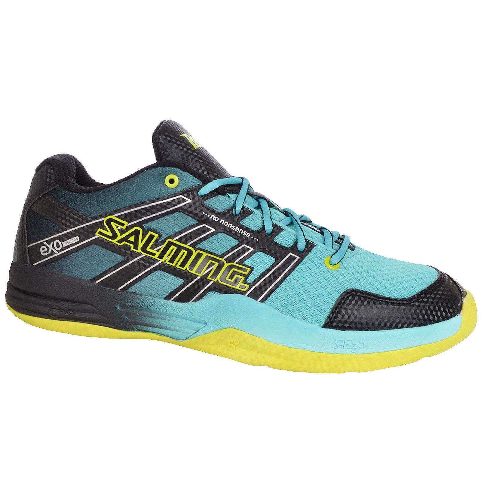 Salming Race X Men's Indoor Court Shoe Turquoise (11.5)
