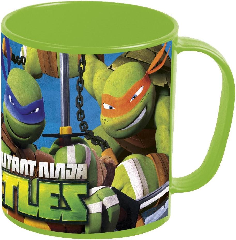 Tortugas Ninja- Taza plastico microondas 36 cl (STOR 48404 ...