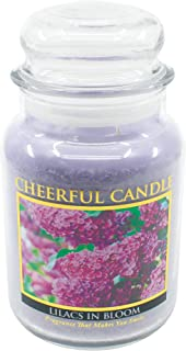 """product image for A Cheerful Giver """"Lilacs in Bloom Jar Candle, 24-Ounce"""