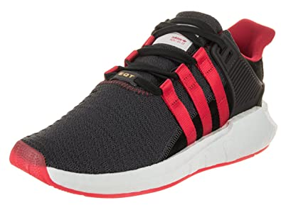 separation shoes eab81 6b714 adidas Mens EQT Support 9317 Yuanxiao CarbonCore BlackScarlet Woven Size