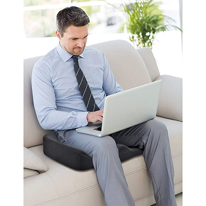 Amazon.com: Comfier Cojín ortopédico para asiento de coxis ...