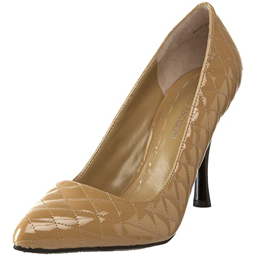 39c49819df Amazon.com | Enzo Angiolini Women's Kraz, Natural, 7 M US | Pumps