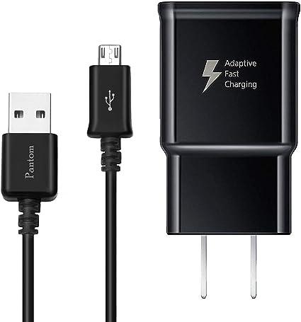 Amazon.com: Adaptive - Cargador de pared con cable micro USB ...
