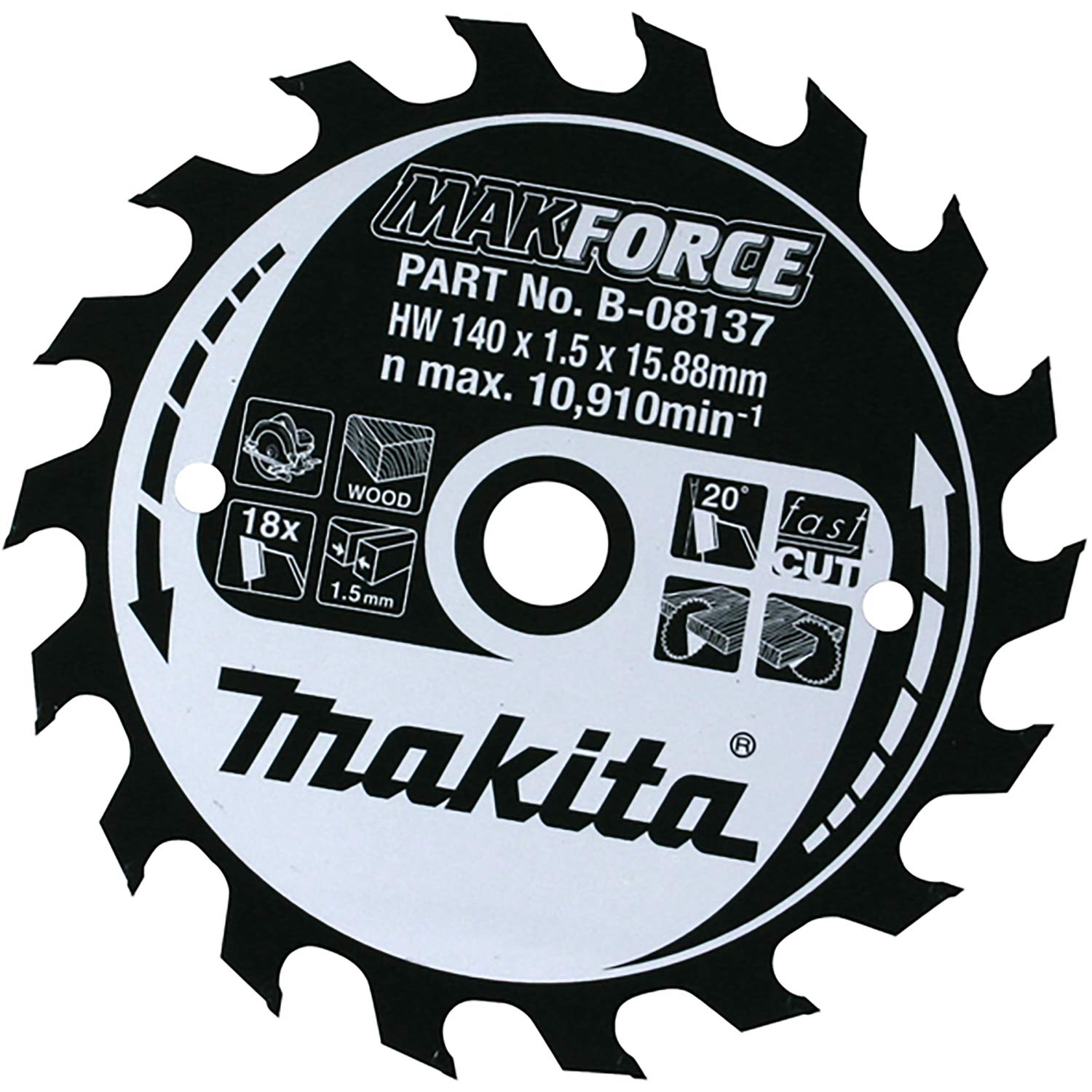 Makita B-08573 Blade blade 270mm diameter tee x 60 bore Limited time for free shipping Colorado Springs Mall 30mm