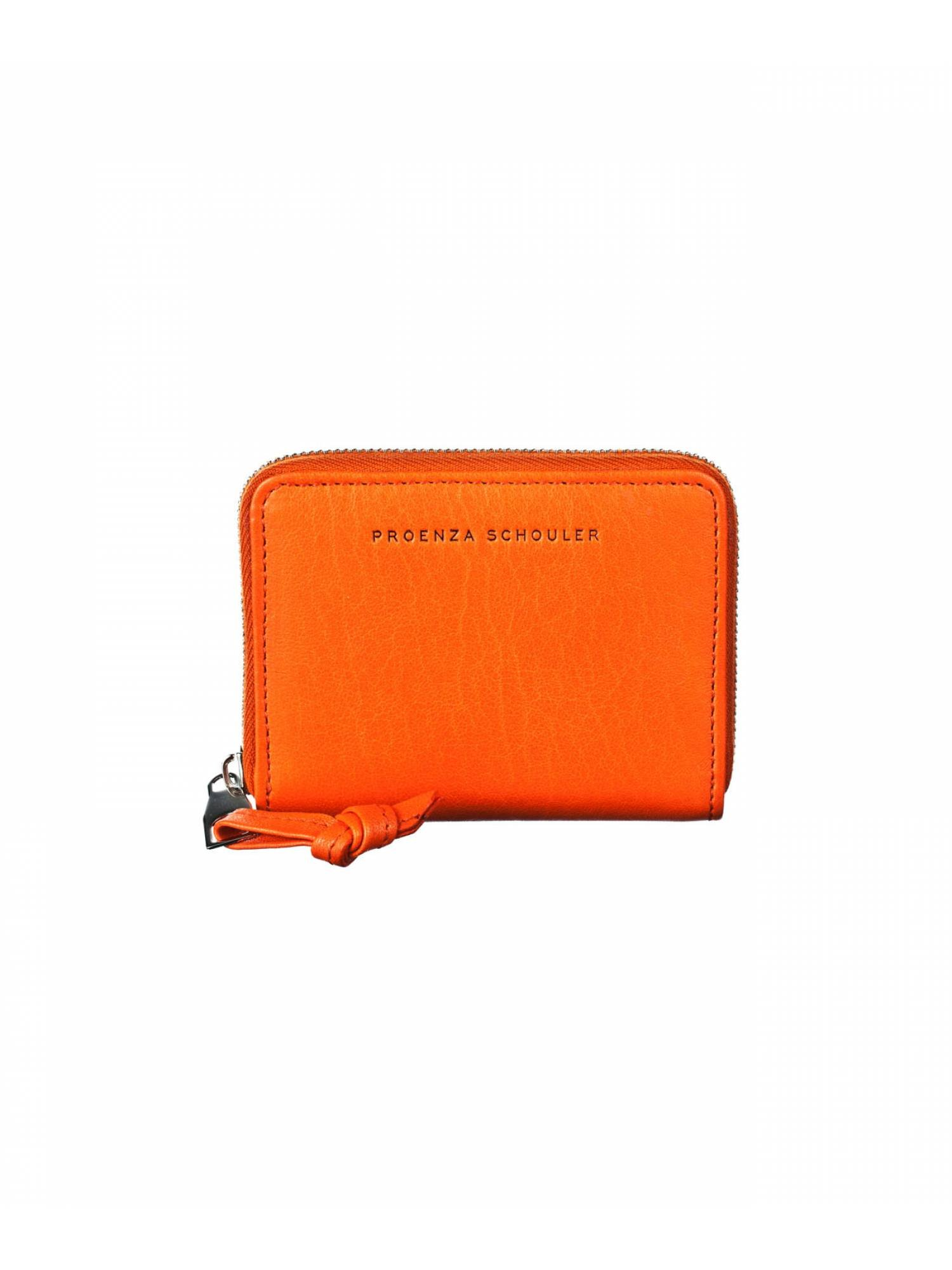 Proenza Schouler Zip Card Case Wallet (Orange)
