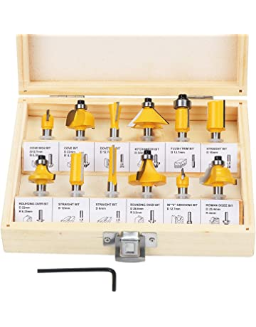 Amazon Co Uk Router Bits Diy Tools