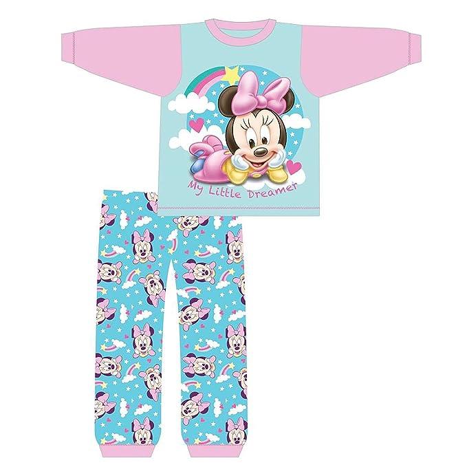 DISNEY, MINNIE MOUSE - Pijamas Enteros - para bebé niña Blue & Pink