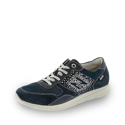 Igi & Co Mujer Sneaker Goretex con Sistema Surround Transpirable Azul Size: 36: Amazon.es: Zapatos y complementos
