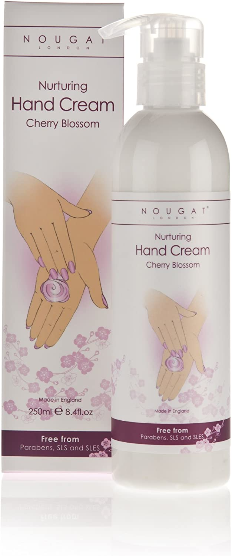 Nougat London Nurturing Hand Cream Pump Peony 250ml