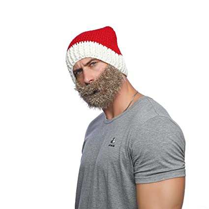 97f83c8a6b2 Jenny Shop Red Winter Santa Hat Snow Ski Caps With Visor Party Accessory  Outdoor Recreation Unisex