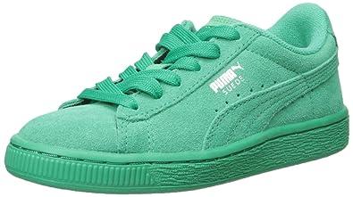 b06a76d63753 PUMA Suede JR Sneaker Simply Green