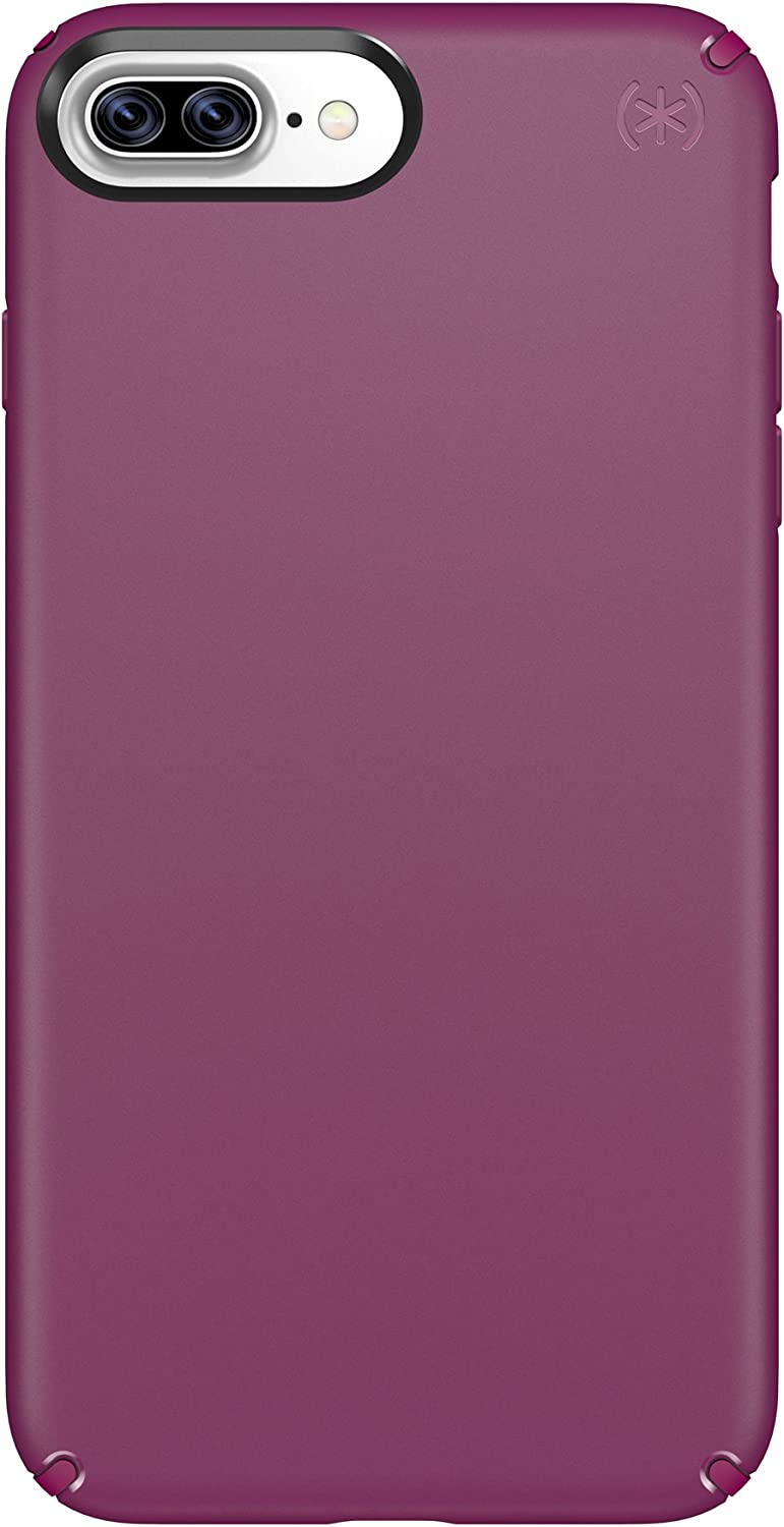 Speck Products Presidio Cell Phone Case for iPhone 7 Plus, 6S Plus and 6 Plus - Syrah Purple/Magenta Pink