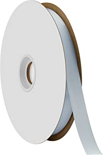 "product image for Offray Berwick 5/8"" Single Face Satin Ribbon, Light Blue, 100 Yds"