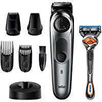 Braun Beard Trimmer BT7240, Hair Clippers for Men, Cordless & Rechargeable, Detail Trimmer, Mini Foil Shaver with…