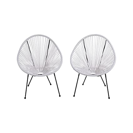 Remarkable Acapulco Patio Chair Outdoor Gift Idea White Camellatalisay Diy Chair Ideas Camellatalisaycom